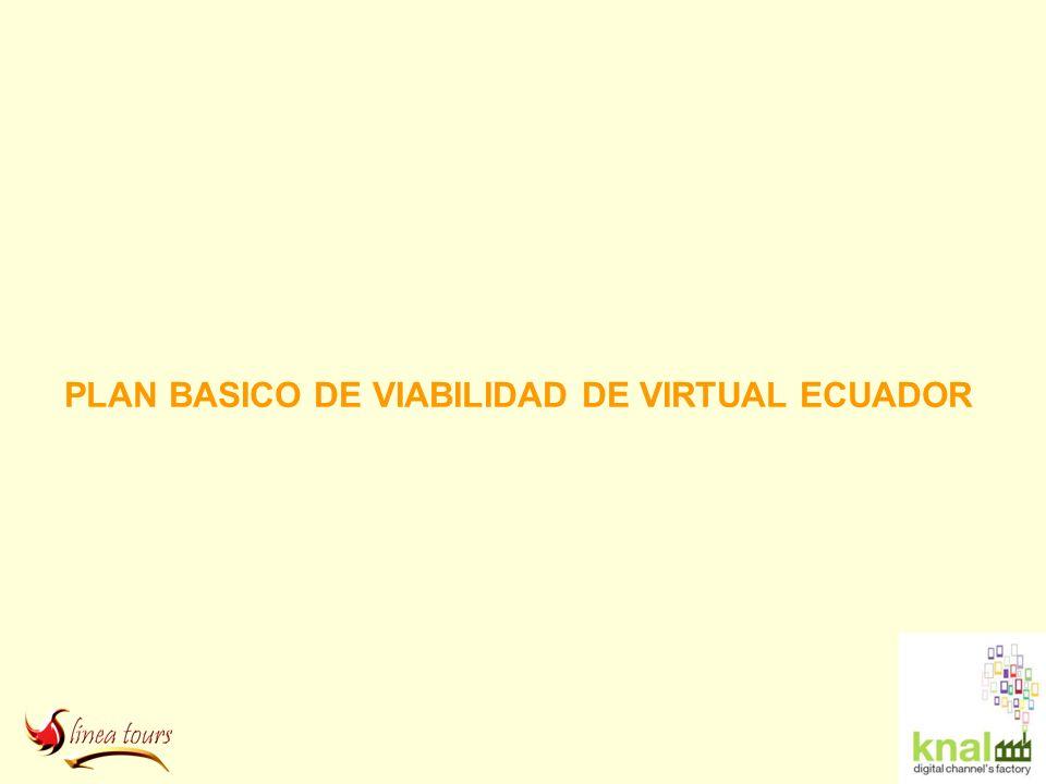 PLAN BASICO DE VIABILIDAD DE VIRTUAL ECUADOR