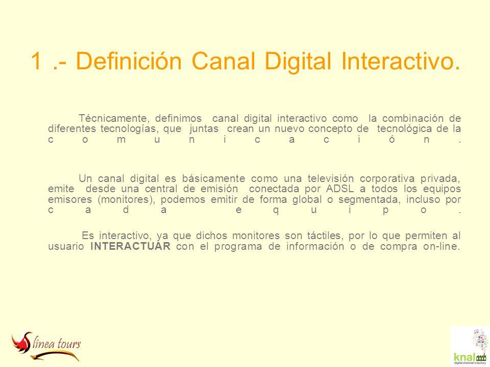 1 .- Definición Canal Digital Interactivo.