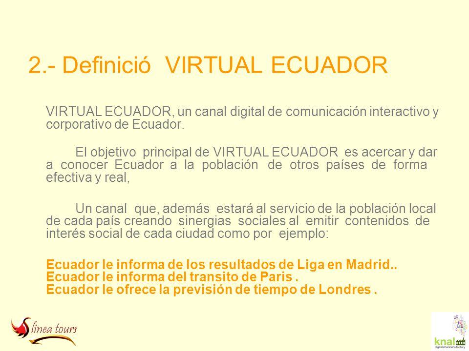 2.- Definició VIRTUAL ECUADOR