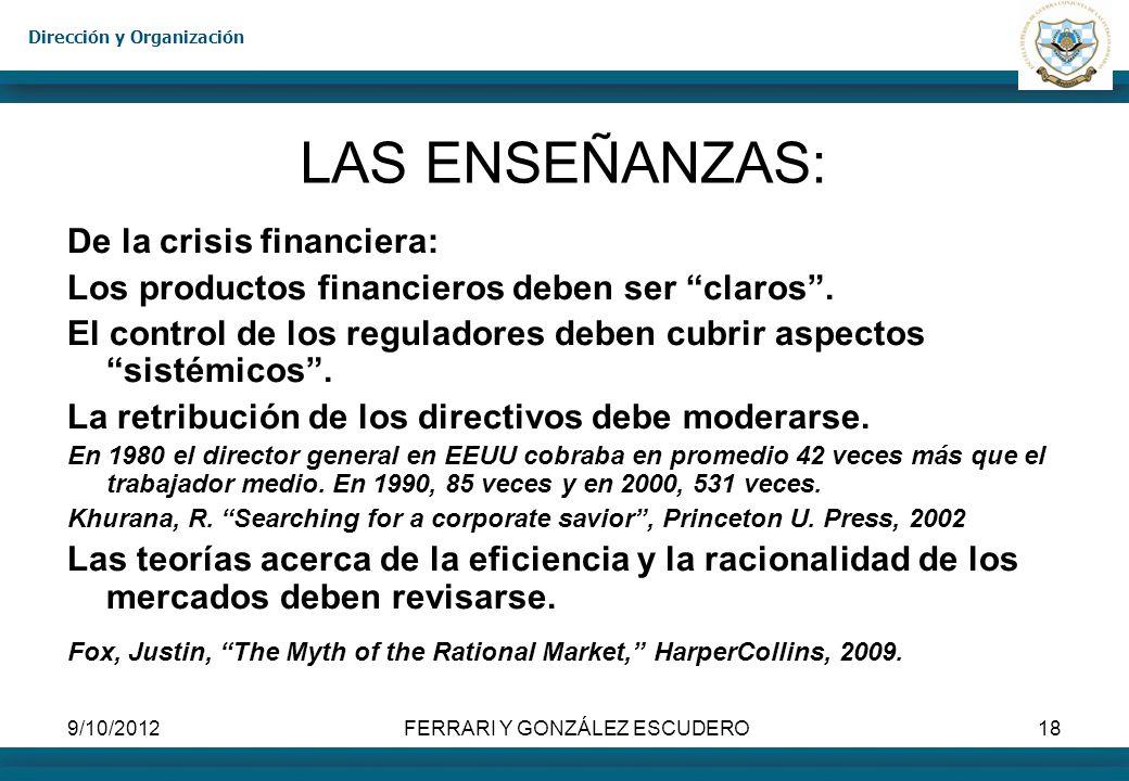 FERRARI Y GONZÁLEZ ESCUDERO