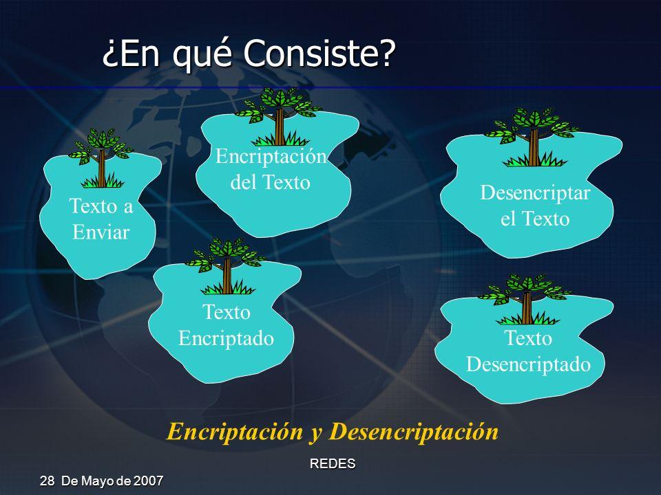 Encriptación y Desencriptación