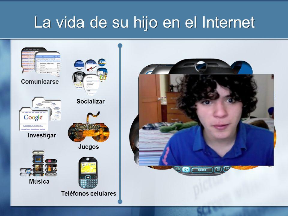 La vida de su hijo en el Internet