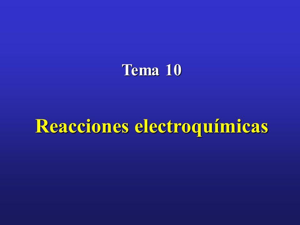 Reacciones electroquímicas