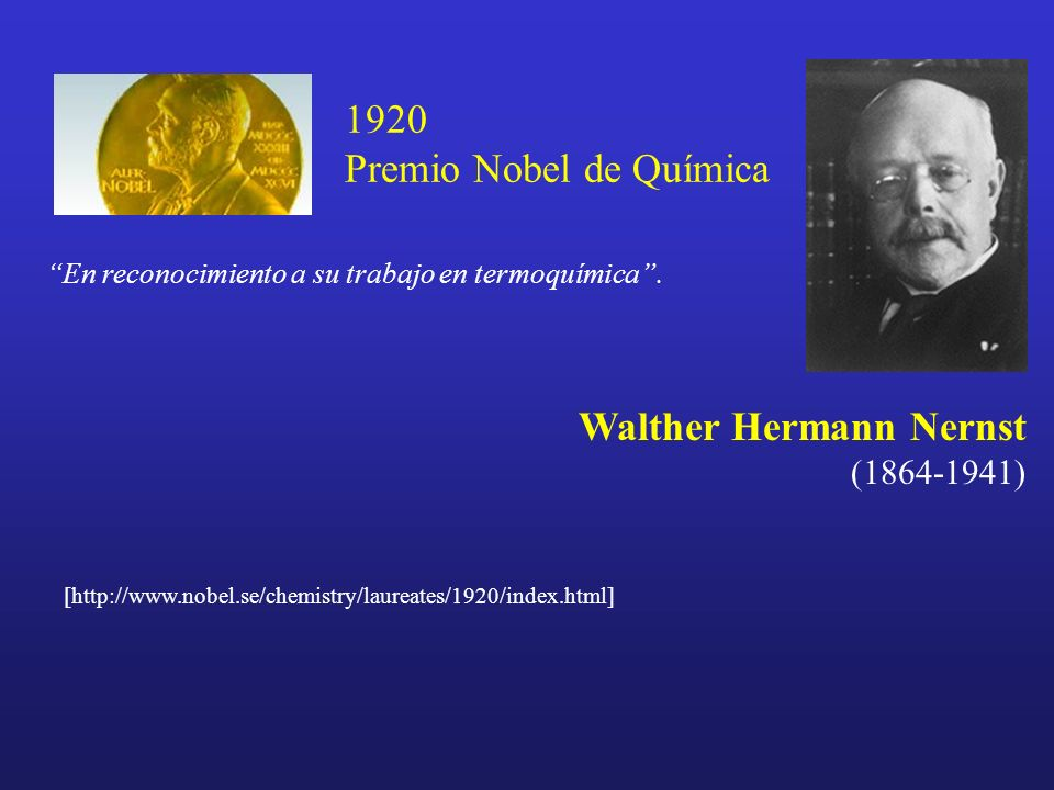 a biography of walther hurmann nernst an electrochemist Walther hermann nernst was born in briesen, west prussia, on june 25, 1864   walther nernst's fundamental contributions to electrochemistry, the theory of.