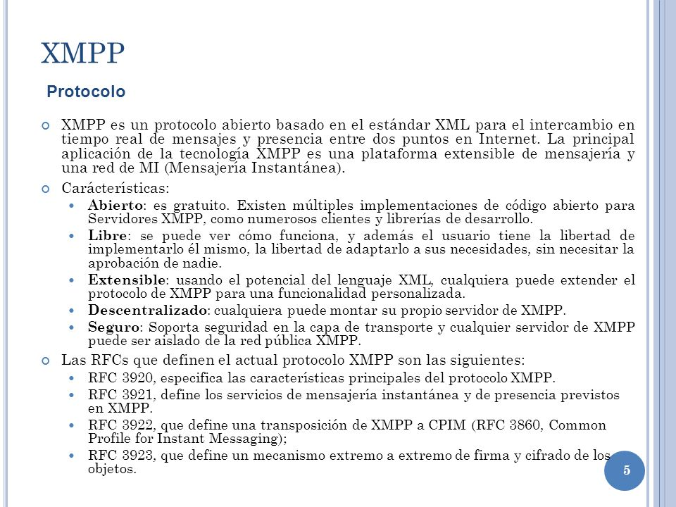 XMPPProtocolo.