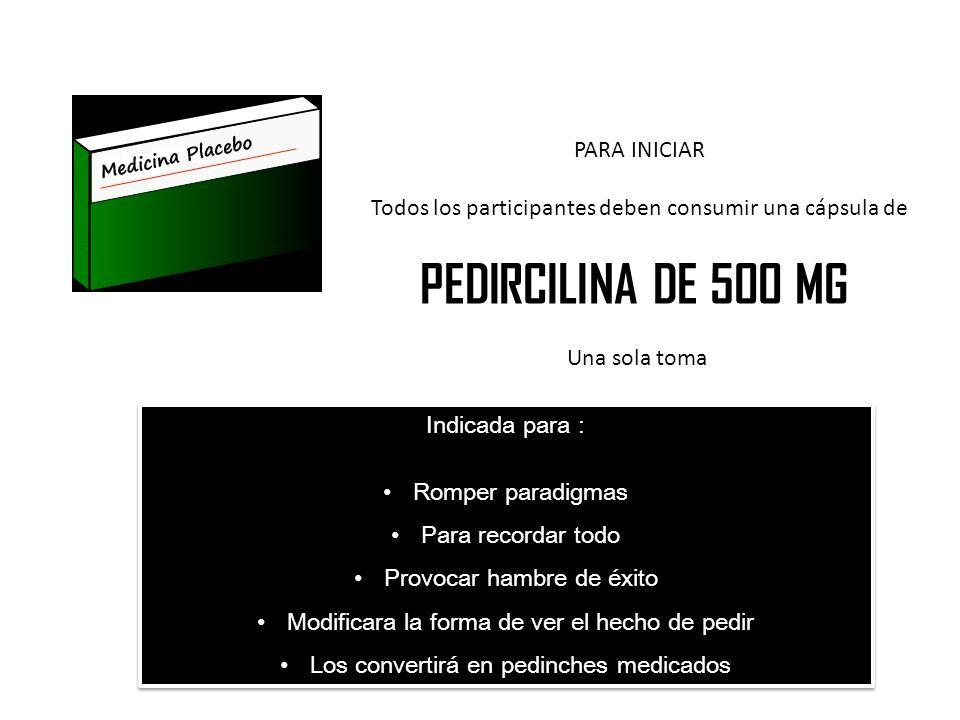 PEDIRCILINA DE 500 MG PARA INICIAR