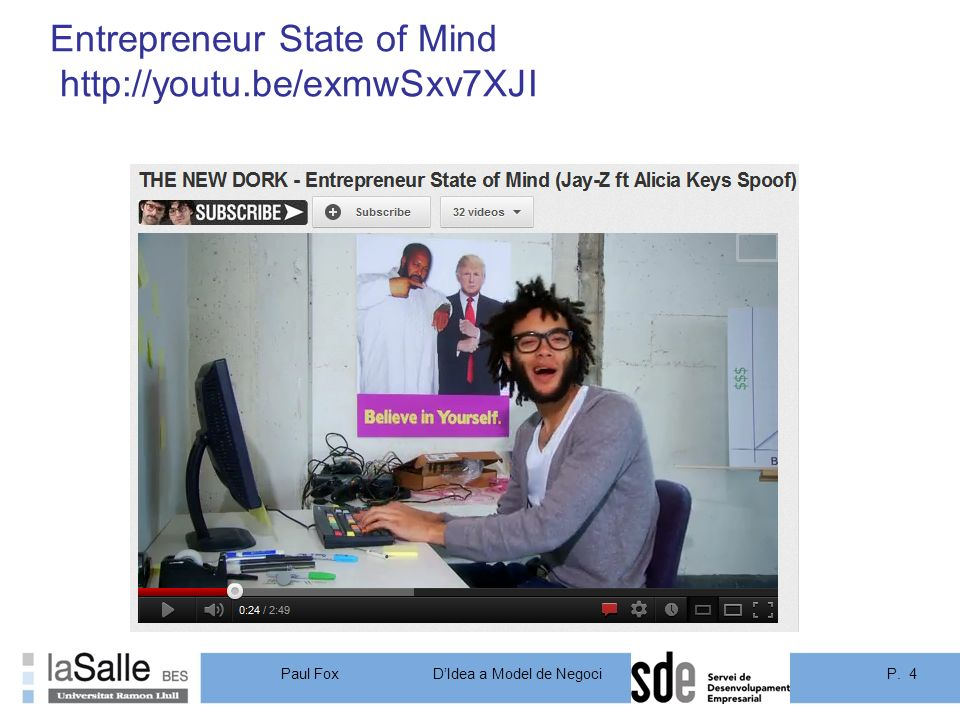 Entrepreneur State of Mind http://youtu.be/exmwSxv7XJI