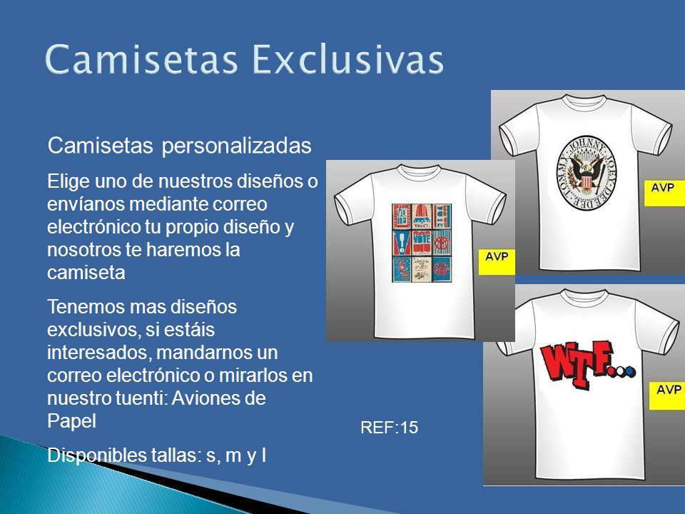 Camisetas Exclusivas Camisetas personalizadas
