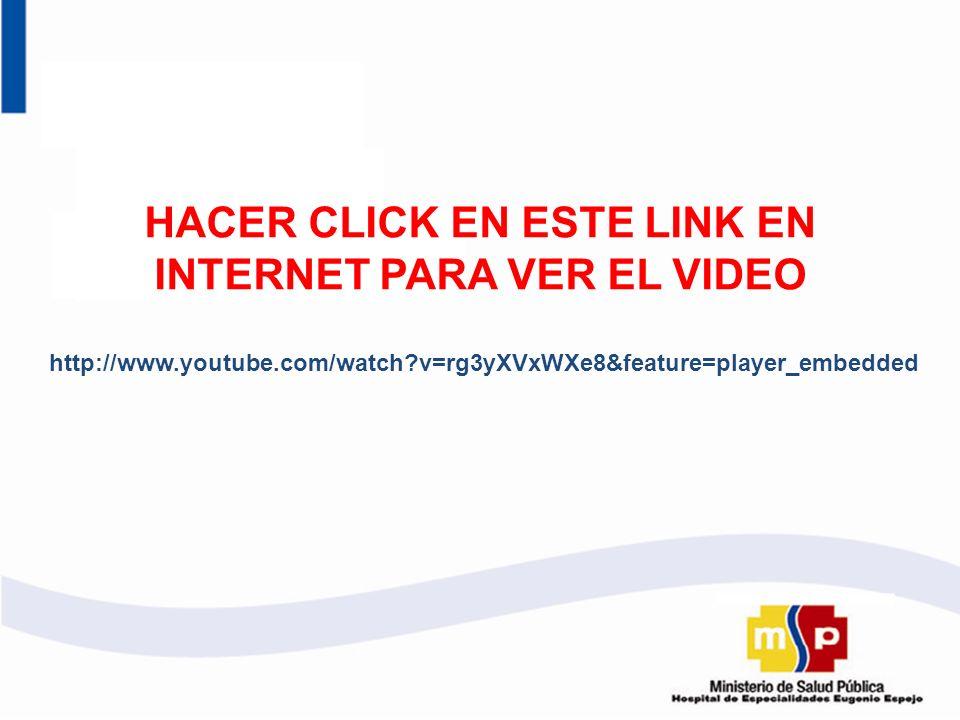 HACER CLICK EN ESTE LINK EN INTERNET PARA VER EL VIDEO