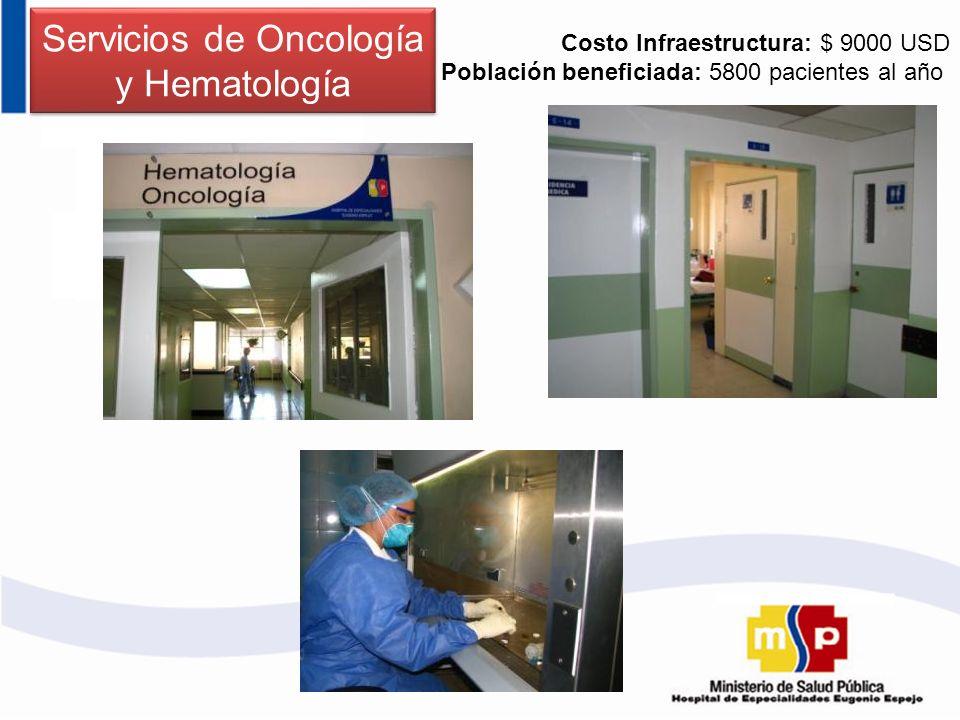 Servicios de Oncología y Hematología