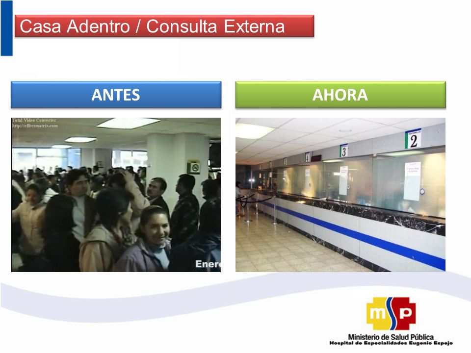 Casa Adentro / Consulta Externa
