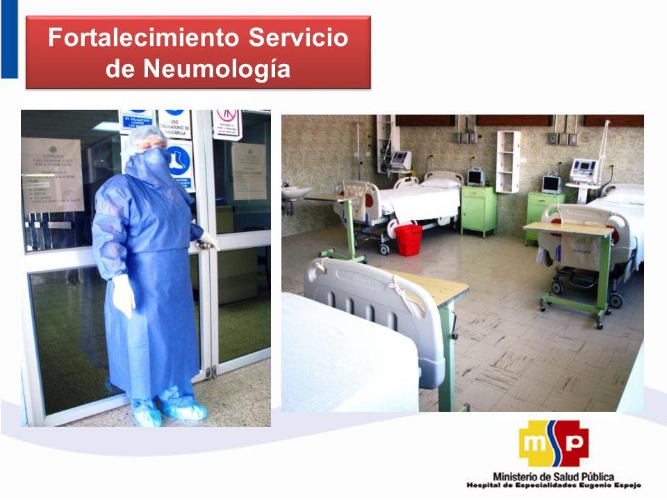 Fortalecimiento Servicio de Neumología