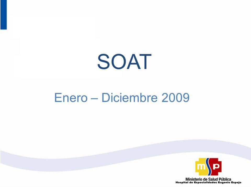 SOAT Enero – Diciembre 2009
