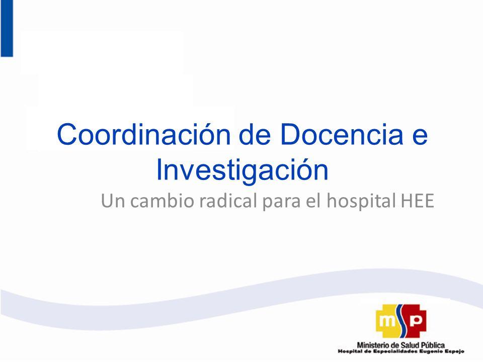 Coordinación de Docencia e Investigación