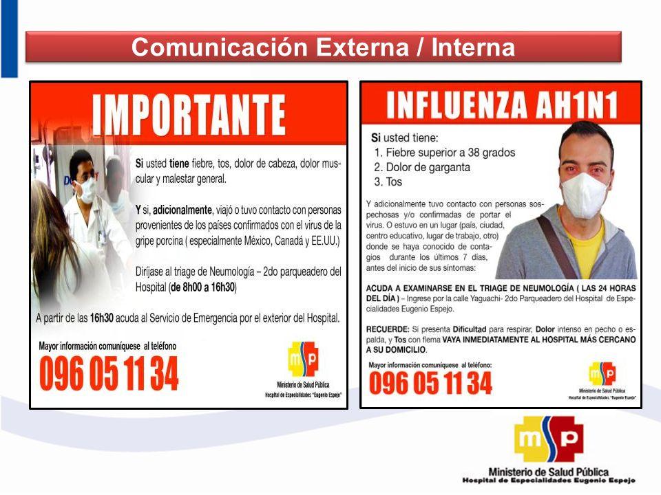 Comunicación Externa / Interna Comunicación Externa / Interna