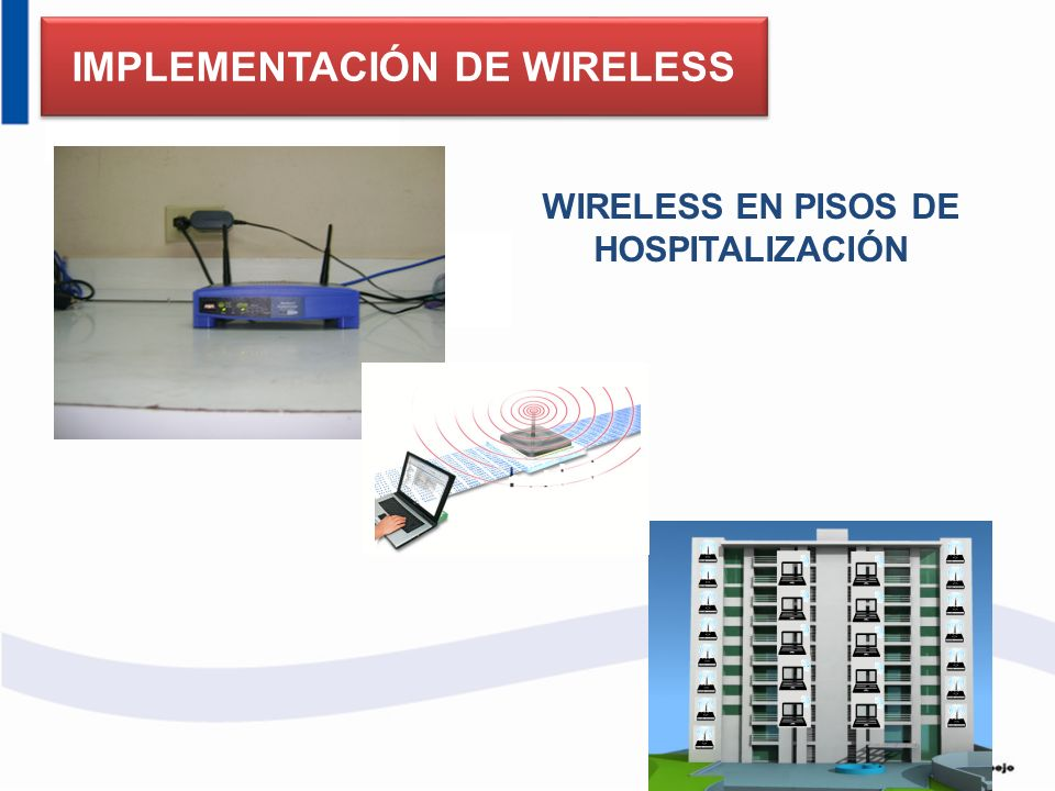 IMPLEMENTACIÓN DE WIRELESS