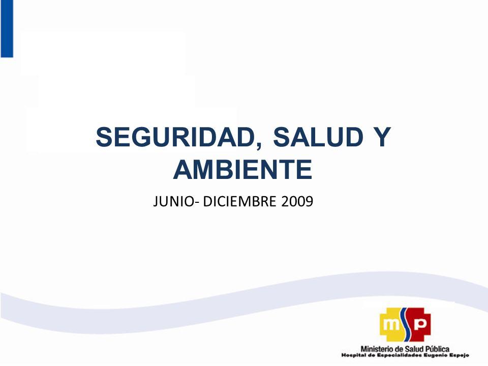 SEGURIDAD, SALUD Y AMBIENTE