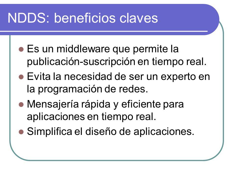 NDDS: beneficios claves