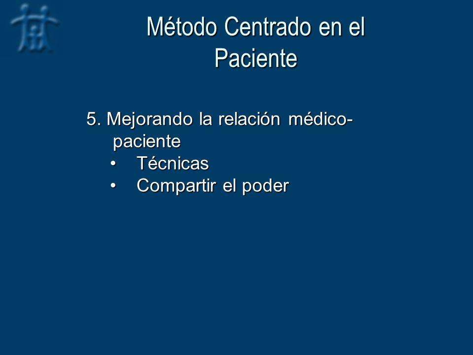Método Centrado en el Paciente