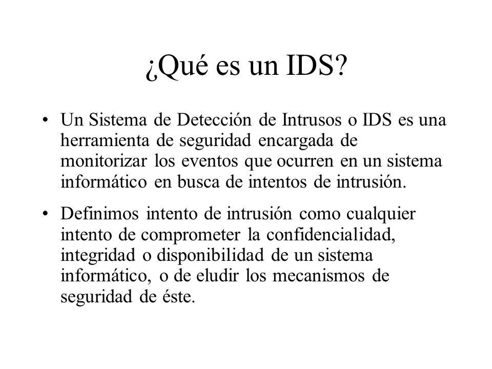 ¿Qué es un IDS