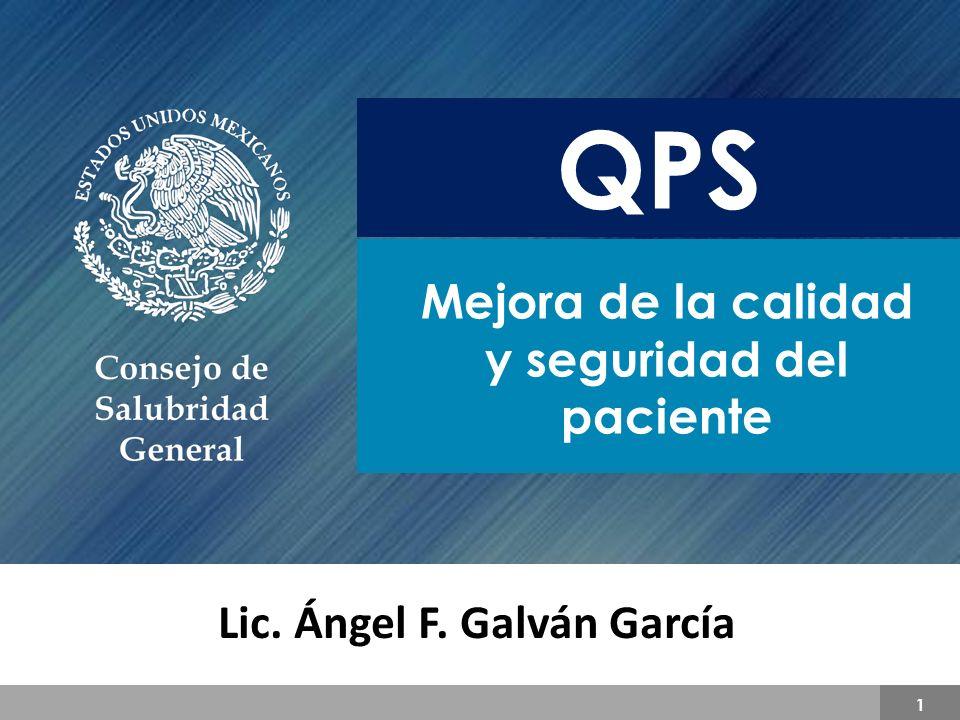 QPS Mejora de la calidad y seguridad del paciente