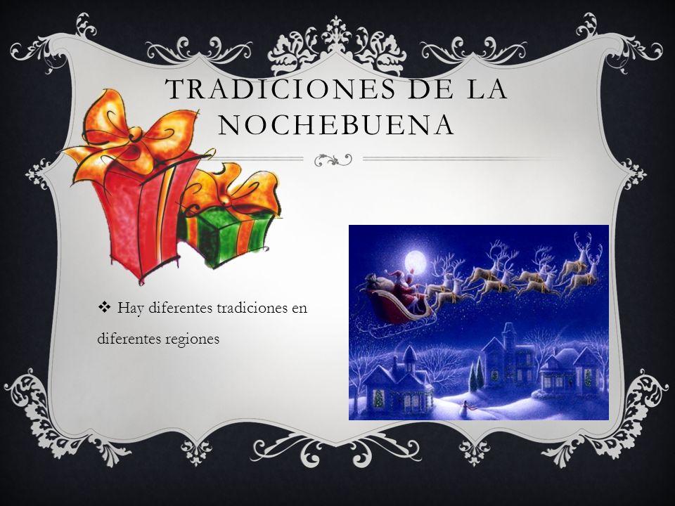 Tradiciones de la Nochebuena
