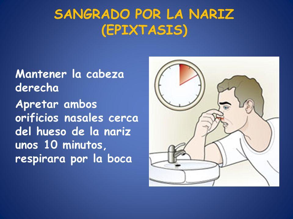 SANGRADO POR LA NARIZ (EPIXTASIS)