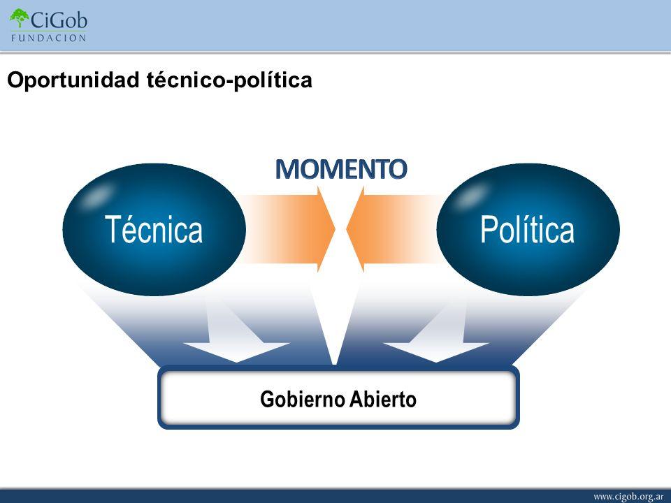 Oportunidad técnico-política