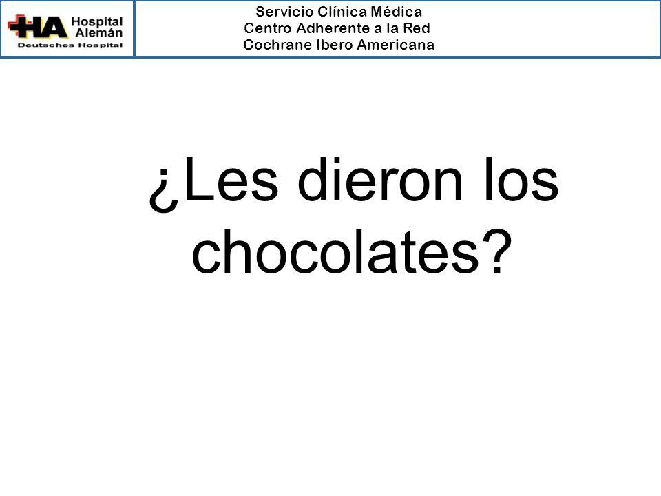 ¿Les dieron los chocolates