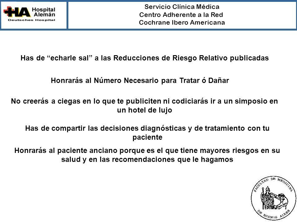 Has de echarle sal a las Reducciones de Riesgo Relativo publicadas