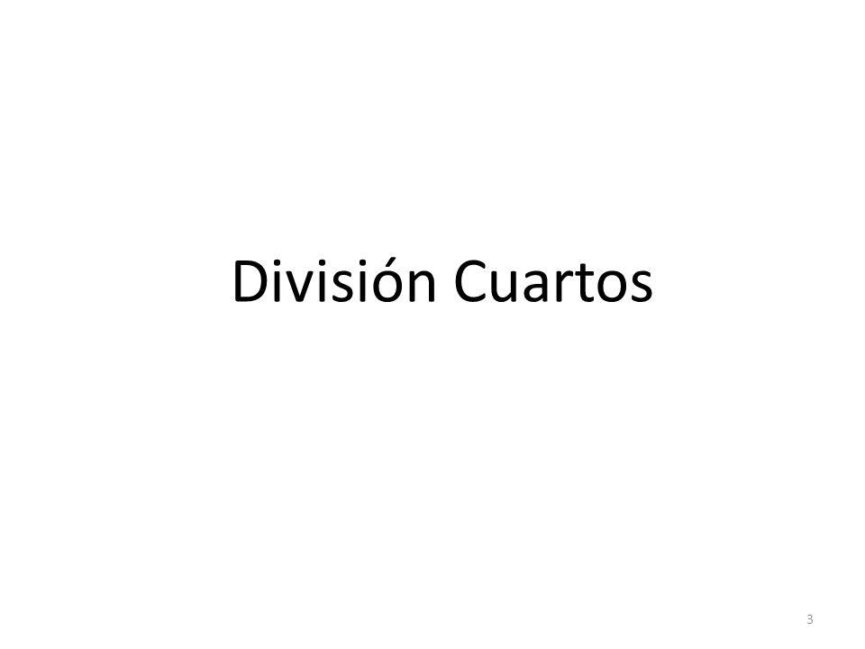 División Cuartos