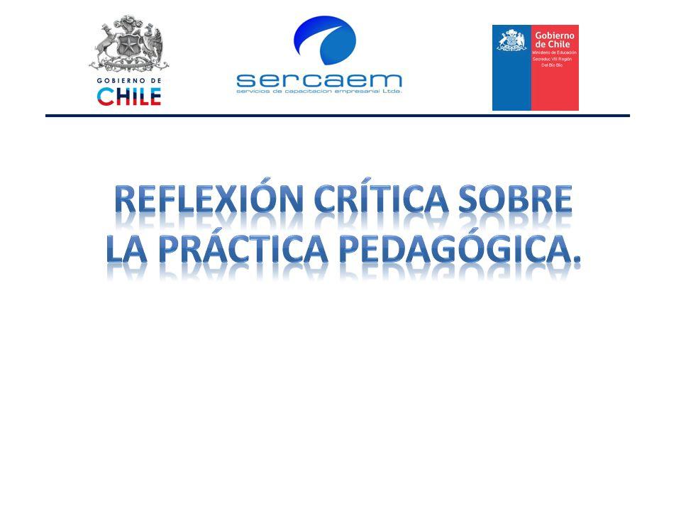 Reflexión Crítica sobre la práctica pedagógica.