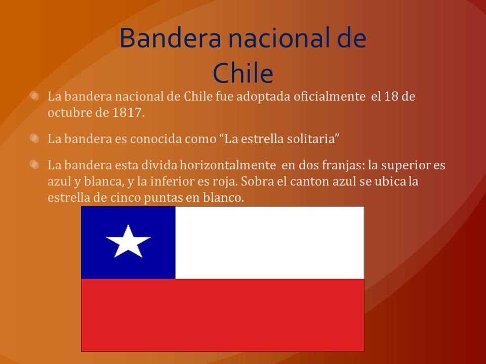 Bandera nacional de Chile