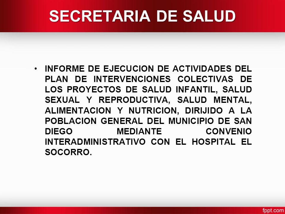 SECRETARIA DE SALUD
