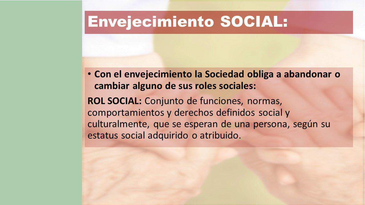Envejecimiento SOCIAL: