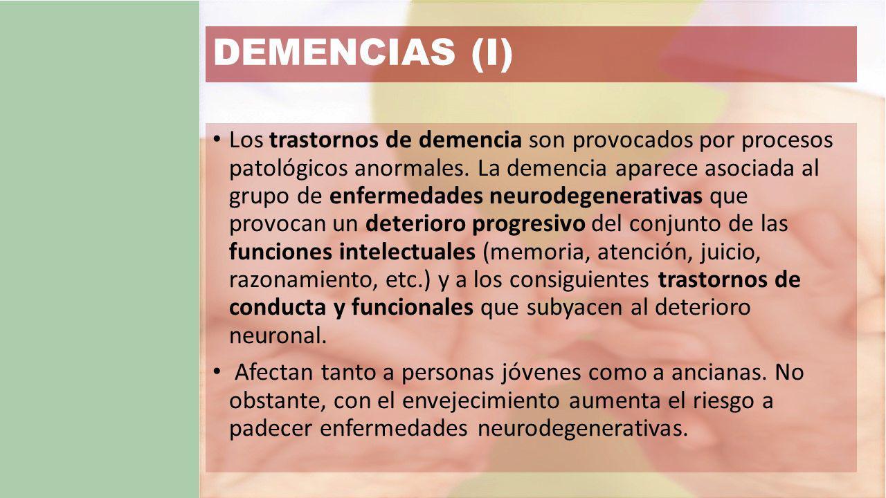 DEMENCIAS (I)