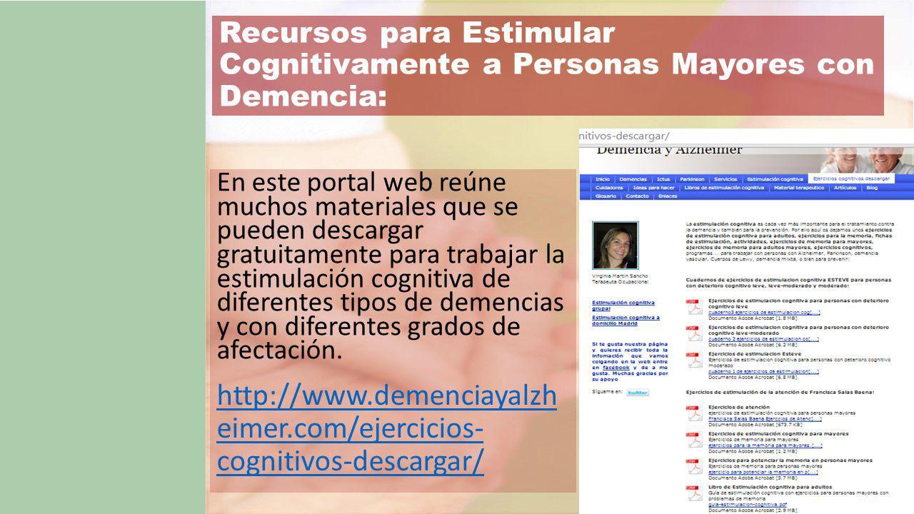http://www.demenciayalzh eimer.com/ejercicios- cognitivos-descargar/