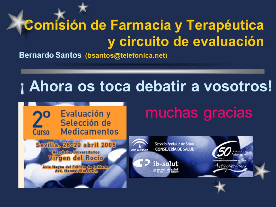Comisión de Farmacia y Terapéutica y circuito de evaluación