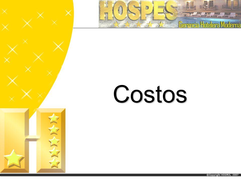 Costos ©Copyright HOSPES, 2007