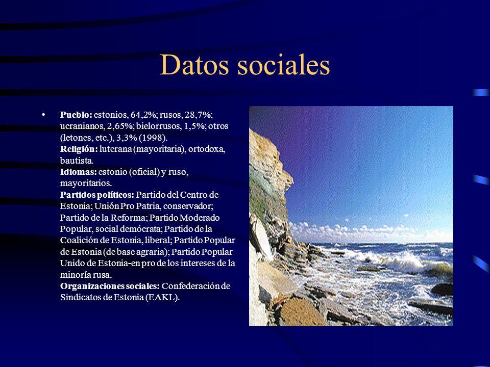 Datos sociales