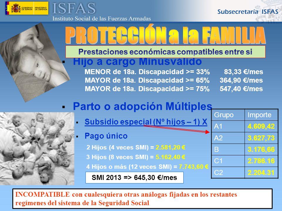 PROTECCIÓN a la FAMILIA