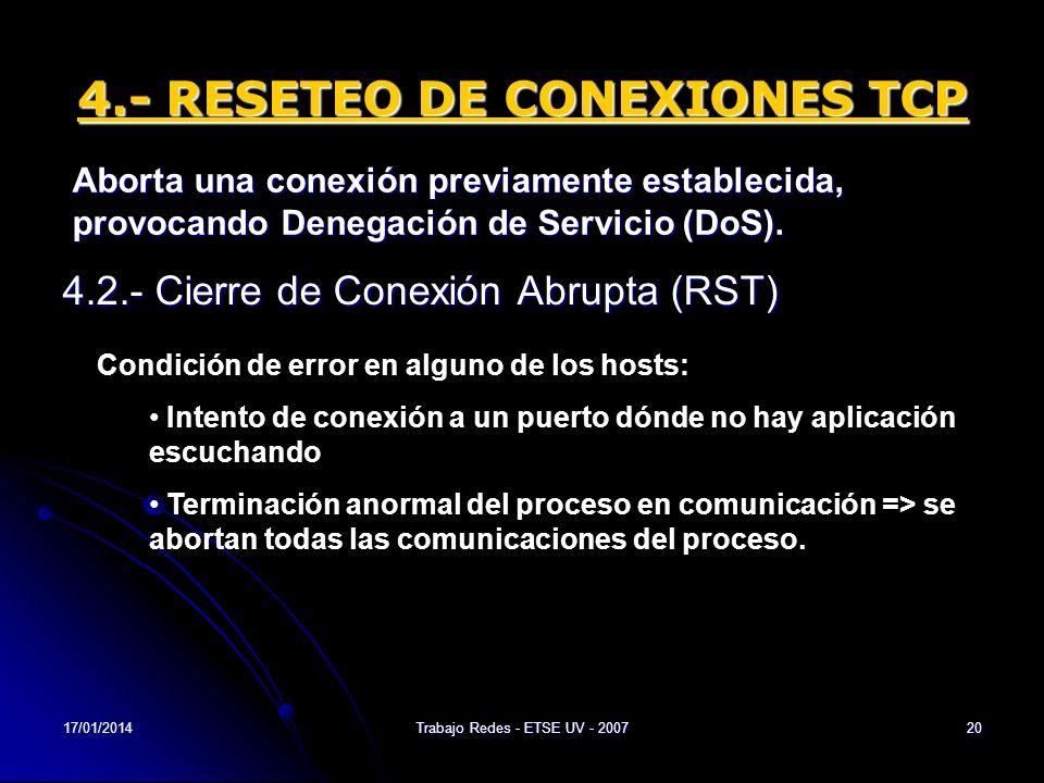 4.- RESETEO DE CONEXIONES TCP