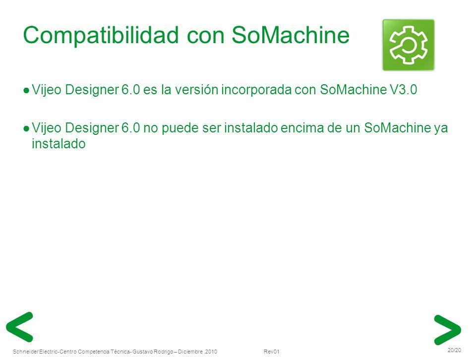 Compatibilidad con SoMachine