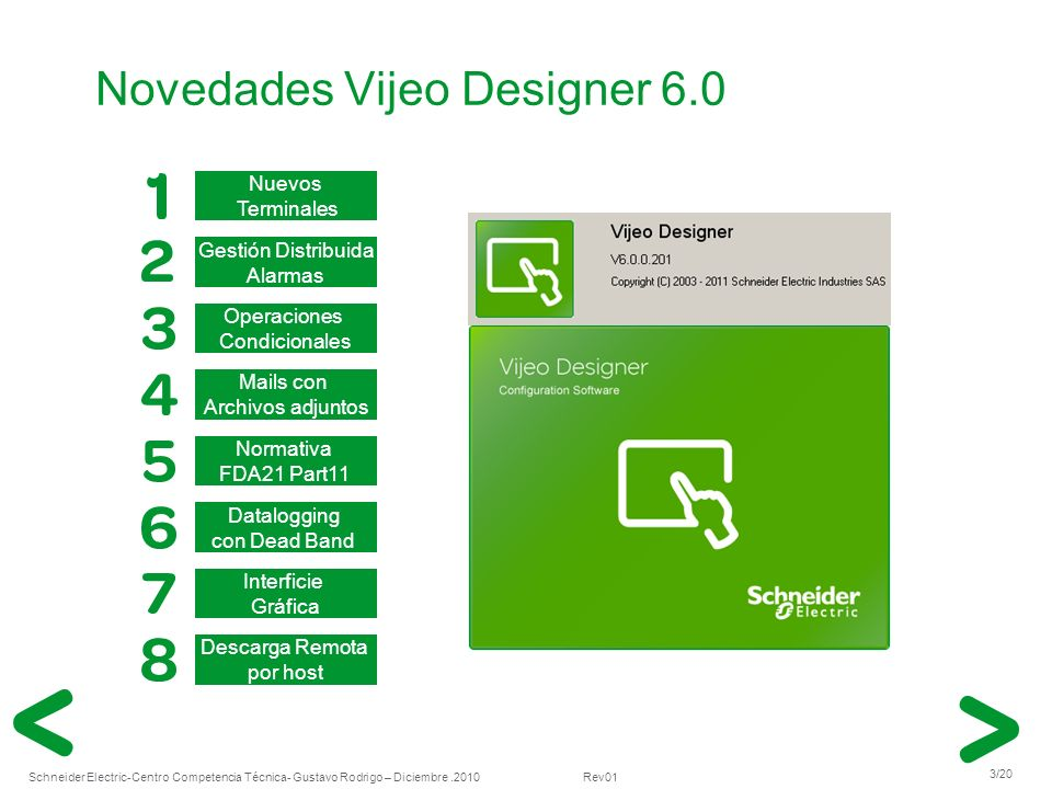 Novedades Vijeo Designer 6.0