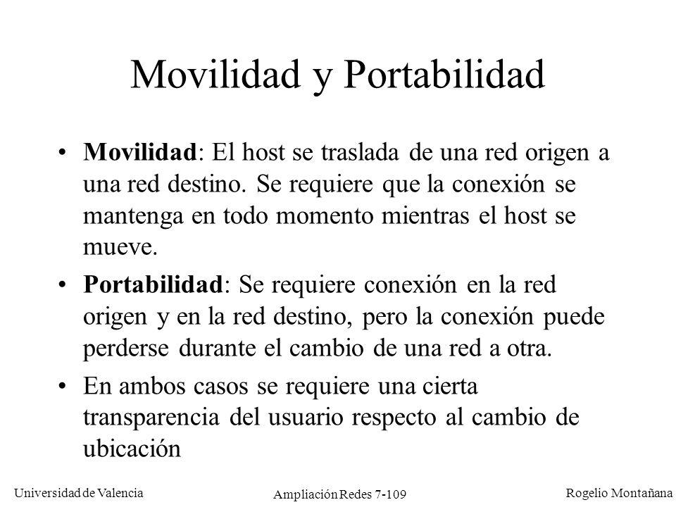 Movilidad y Portabilidad