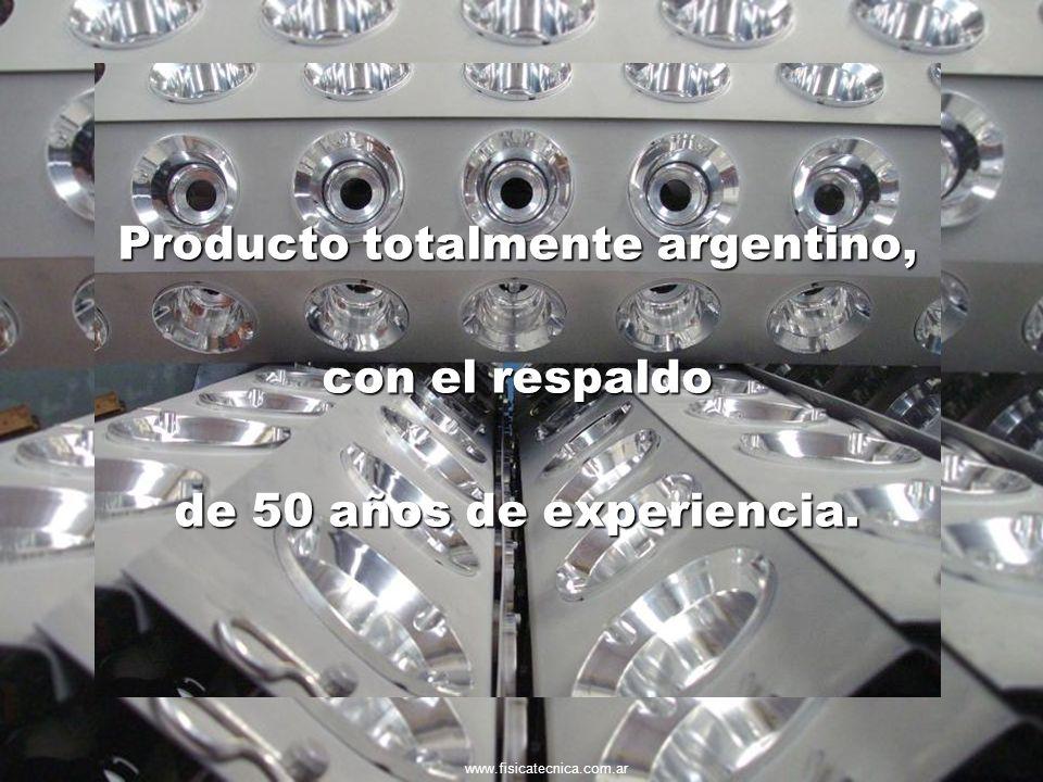 Producto totalmente argentino,