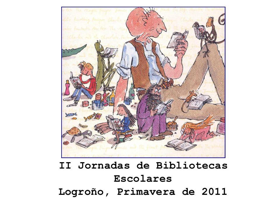 II Jornadas de Bibliotecas Escolares