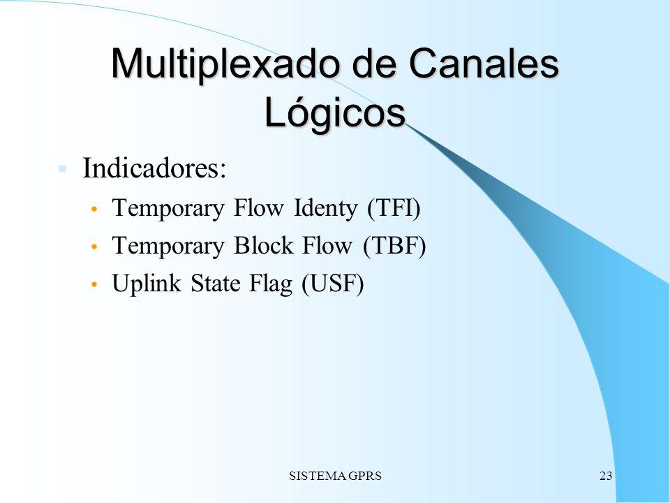 Multiplexado de Canales Lógicos