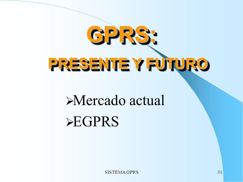 GPRS: PRESENTE Y FUTURO