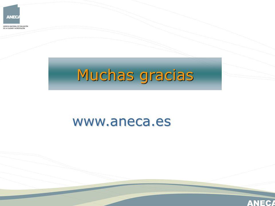 Muchas gracias www.aneca.es
